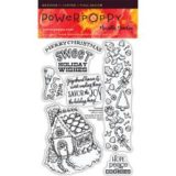 Power Poppy PPOCT1403 Frosted Gingerbread