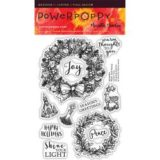 Power Poppy PPOCT1504 Wreaths Plain and Fancy