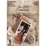 Idea-ology TH93564 Ephemera Pack 111/pkg  Snippets Tiny Die-Cuts- out of stock