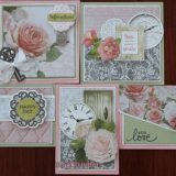 MC&S Card Kit – Cottage Rose – Kit 1