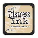 Distressed Mini Ink Pad – Antique Linen