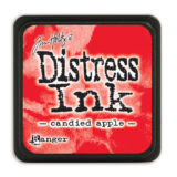 Distressed Mini Ink Pad – Candied Apple