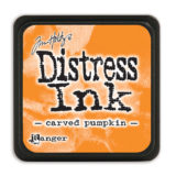 Distressed Mini Ink Pad – Carved Pumpkin
