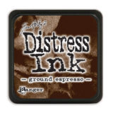 Distress Mini Ink Pad – Ground Espresso – temp. out of stock