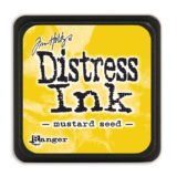 Distressed Mini Ink Pad – Mustard Seed