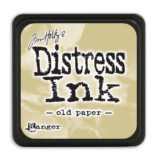 Distress Mini Ink Pad – Old Paper