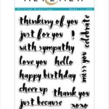 Altenew – Painted Greetings Stamp Set.. – out of stock