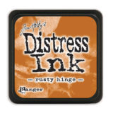 Distressed Mini Ink Pad – Rusty Hinge