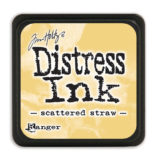 Distressed Mini Ink Pad – Scattered Straw