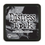 Distress Mini Ink Pad – Black Soot