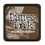 Distress Mini Ink Pad – Walnut Stain