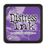 Distress Mini Ink Pad – Wilted Violet