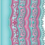 Spellbinders S5214 A2 Scalloped Borders 3