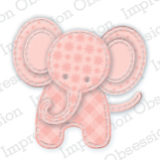 Impression Obsession – Die425-L Patchwork Elephant