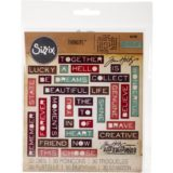 Tim Holtz / Sizzix 661801 Pondering Words