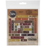 Tim Holtz / Sizzix 661807 Sentiment Words