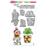Stampendous CLD09 Seated Elf (stamp and die set) sold out