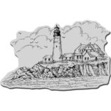 Stampendous CRP025 Portland Head Lighthouse