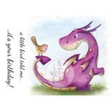 Wild Rose Studio – Dragon and Bird – out of stock