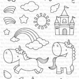 My Favorite Things – Magical Unicorns stamp set