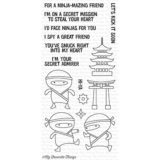 My Favorite Things – Ninja-mazing stamp set