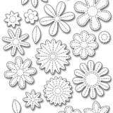 My Favorite Things – Dienamics Stitched Flowers – temp. out of stock