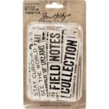 Tim Holtz / Idea-Ology TH93563 Word & Phrases Chipboard Quote Chips