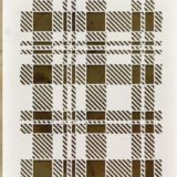 Tim Holtz Stencil – THS097 Plaid
