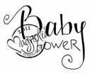 Magnolia Rubber Stamp – Baby Shower