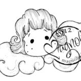 Magnolia Rubber Stamp – Glory Tilda