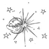 Magnolia Rubber Stamp – Nativity Star