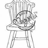 Magnolia Rubber Stamp – Old Swedish Bench