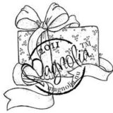 Magnolia Rubber Stamp – Sweet Christmas Present