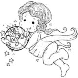 Magnolia Rubber Stamp – Tilda Captures Stars