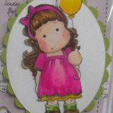 Magnolia Rubber Stamps – Tilda with Balloon