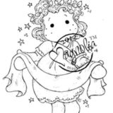Magnolia Rubber Stamps – Tilda with Banner