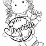 Magnolia Rubber Stamp – Tilda with Daffodil
