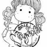 Magnolia Rubber Stamps – Tilda with Lace Jeans