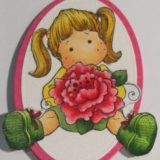 Magnolia Rubber Stamp – Tilda with Peony Tails