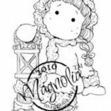 Magnolia Rubber Stamp – Tilda with Winter Light