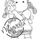 Magnolia Rubber Stamp – Tilda with Newly Hatched Chicken