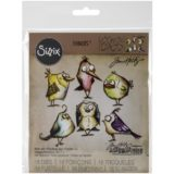 Sizzix / Tim Holtz 660954 Bird Crazy
