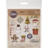 Sizzix / Tim Holtz 662418 Mini Christmas Things