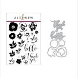 Altenew – Flower Arrangement stamp and die set..