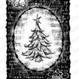 Impression Obsession – H4229 Tree Collage Cling Stamp