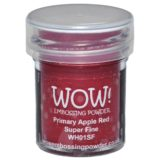 WOW Embossing Powder – Primary Apple Red