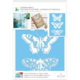 Momenta Craft Screens Stencils 6×9″ – 30388 3 Butterflies
