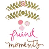 Sizzix – 662357 Floral Arch & Words thinlits dies by Eileen Hull..