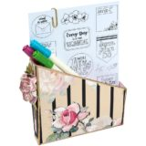 Sizzix 662361 Card Box, Planner Storage & Organiser XL die by Eileen Hull.. – sold out