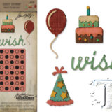Tim Holtz Sizzix 662703 Sidekick Side-Order Birthday..